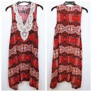 Chelsea & Violet sleeveless boho dress
